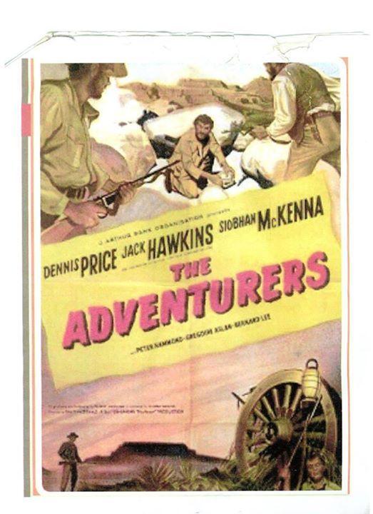 16mm 1951 The Adventurers