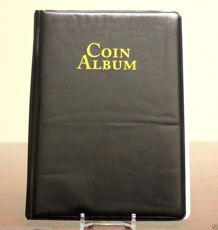 WHITMAN 60 Pocket Coin Stock Book Album for 2x2 Holders Storage Display Folder #WHITMAN