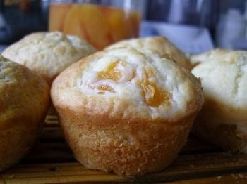 Peaches 'N' Cream Muffins | Baking | Pinterest | Muffins, Peaches ...