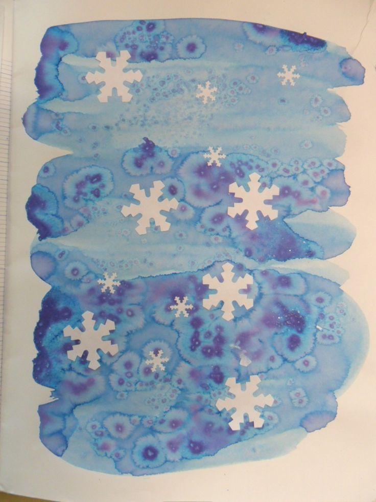 Des idées pour illustrer les poèmes ou les chants l'hiver