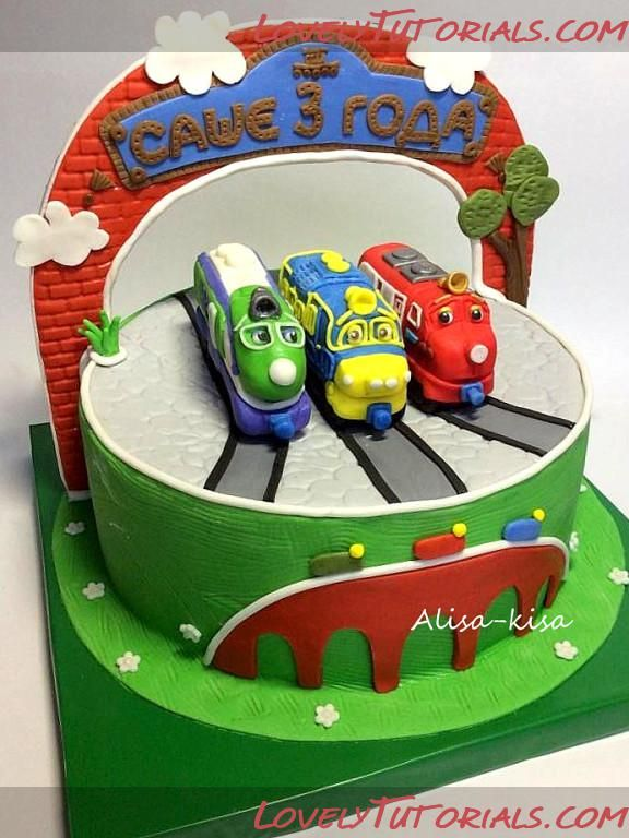 Chuggington cake toppers tutorials