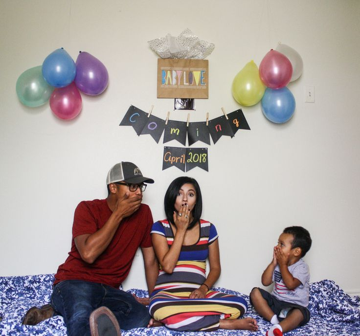 Baby number two, second pregnancy announcement