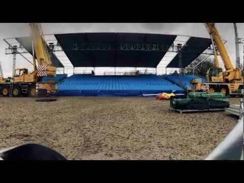 Diamond Jubilee Pageant - Construction Time Lapse Part 1