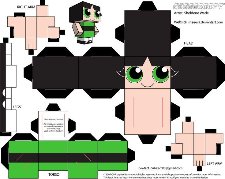 PaperToy_Powerpuff