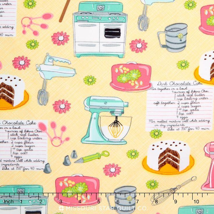 Kitchen - Baking Yardage - Timeless Treasures - Timeless Treasures