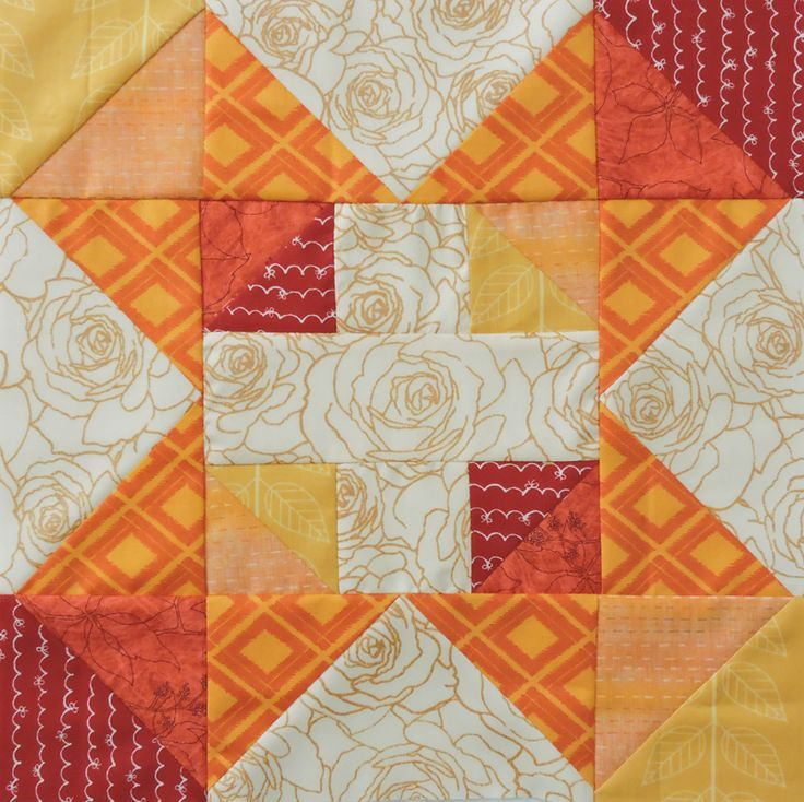Autumn Chain Block | Sew Mama Sew |