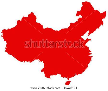 Map of People's Republic of China  #China #retro #illustration