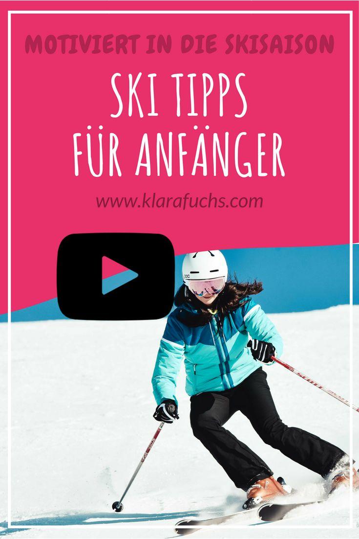 Ski Tipps für Anfänger und Technik Tipps / Carven - KlaraFuchs.com Lerne Ski Fahren mit diesen Tipps! Ski Fahren & Ski Technik für Anfänger. Fit in die Skisaison und fit durch den Winter. #skifahren #gesundheit #skiing #berge #mountains