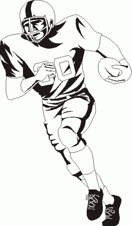 Snubberx: Marquinos Soccer Player Coloring Pages
