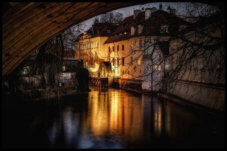 Photograph night Prague by Václav Verner on 500px