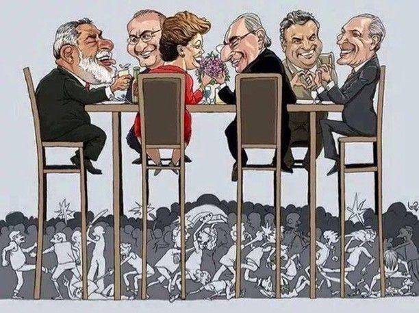 Enquanto o povo briga!!!! #crisesemfim #Brasil