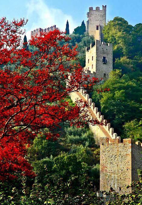 Marostica in the Spring ~ Marostica ~ Province of Vicenza ~ Veneto region Italy