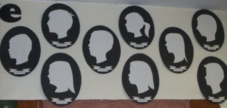 silhouette display 1
