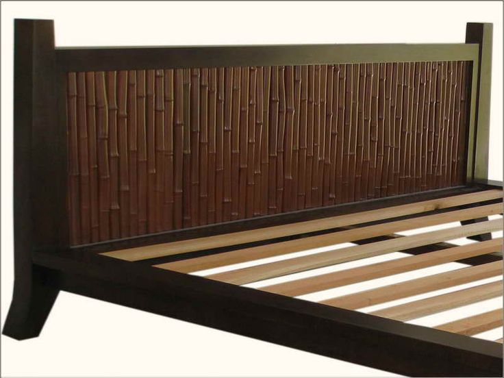 Details About Bamboo Headboard With No Bed