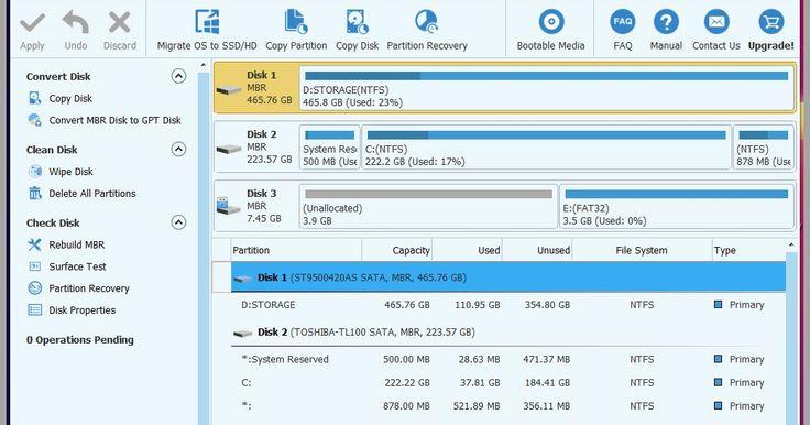 Το MiniTool Partition Wizard Home Edition είναι ένα δωρεάν λογισμικό διαχείρισης partition και υποστηρίζει 32 και 64 bit συμπεριλαμβανομένων των Windows XP Vista Windows 7 και Windows και Windows 10. Οι λειτουργίες περιλαμβάνουν την δυνατότητα αλλαγής μεγέθους κατατμήσεων αντιγραφή διαμερισμάτων δημιουργία Partitions Partition Extend Partition spilt διαγραφή Partitions μετατροπή Partitions απόκρυψη Partitions αλλαγή γράμματος των σκληρών δίσκων ορισμός ενεργού διαμερίσματος Recovery…