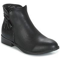 Cipők Női Csizmák Moony Mood GEROME Fekete