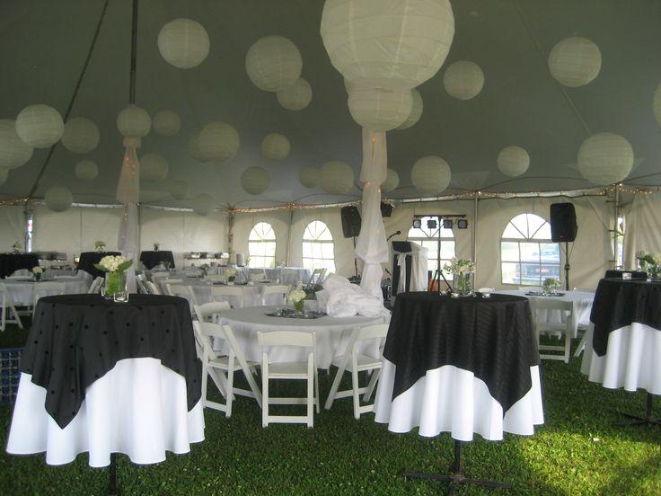Decorated Tent onsite at Stanley Bridge Resort, Stanley Bridge PEI