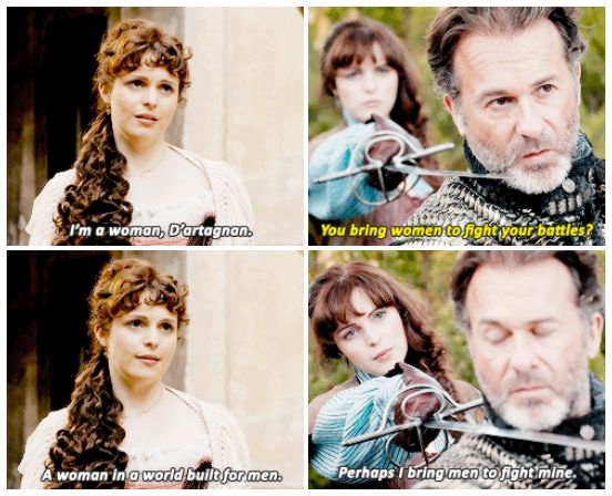 The Musketeers - Constance's growth, 2x01/2x10