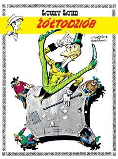 "René Goscinny (sc.), Morris (rys.), ""Lucky Luke #33: Żółtodziób"", Egmont Polska, 2016."