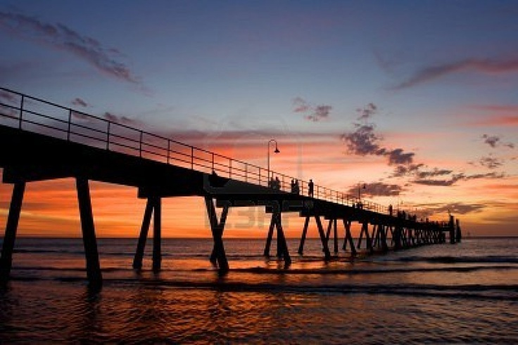 Glenelg Jetty, South Australia... went fishing many times off this jetty when I was little :)