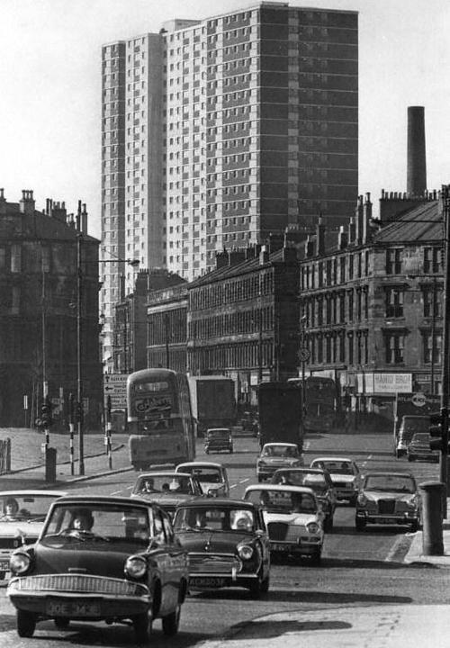 Gorbals Cross, Glasgow, 1973