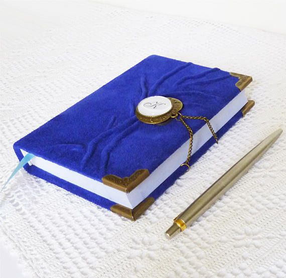 Check out this item in my Etsy shop https://www.etsy.com/listing/534284315/custom-journal-blue-diary-leather