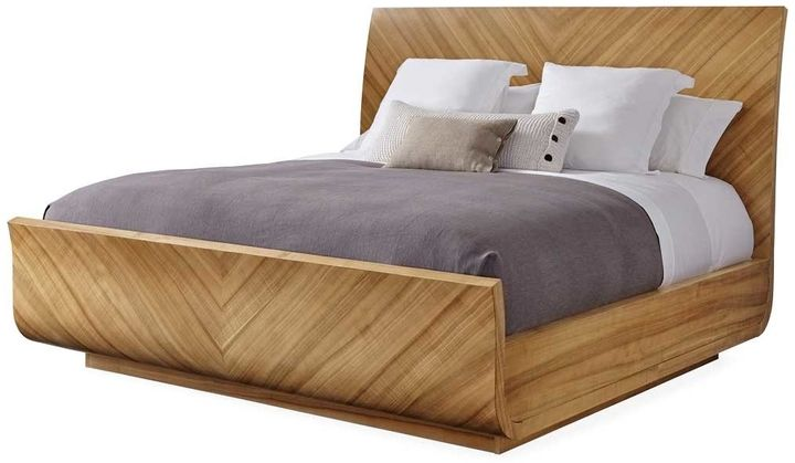 Caracole Modern Craftsman Sleigh Bed