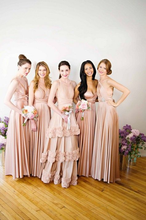 Twobirds Bridesmaid…………a colour, style and size to fit everyone!