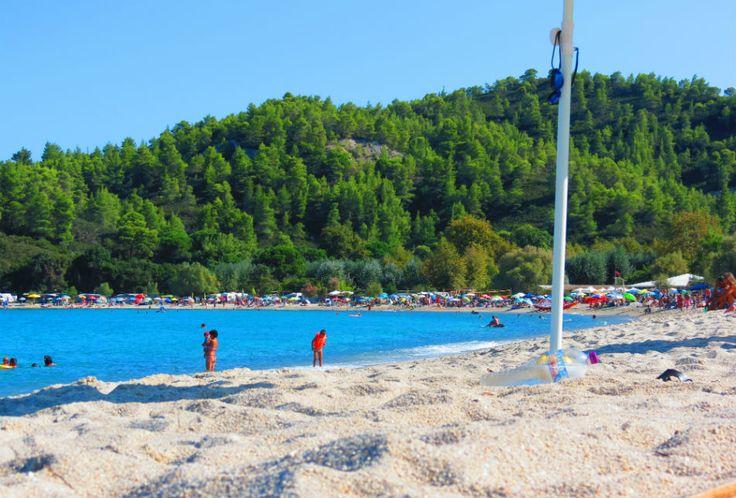 Greece #Sithonia Armenistis #beach
