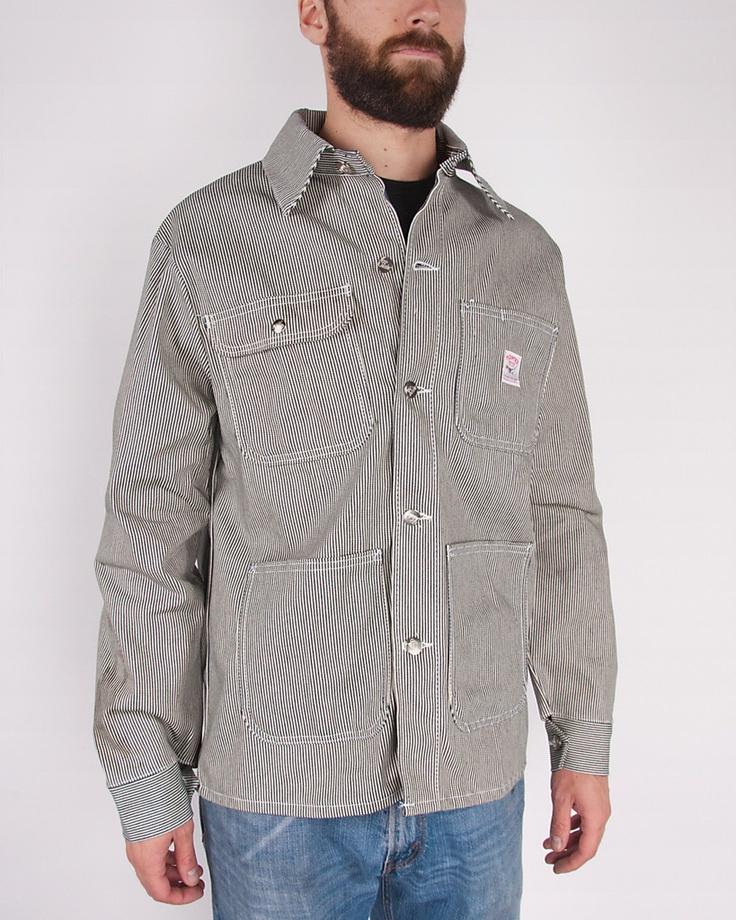 Pointer Brand Hickory Stripe Chore Coat