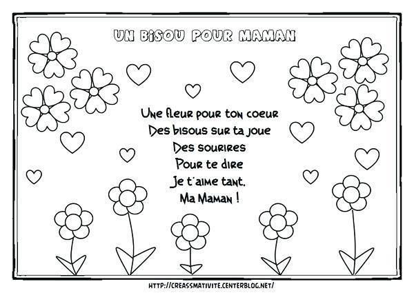 Coloriage Bonne Fete Maman A Imprimer Mother S Day Diy Mothers