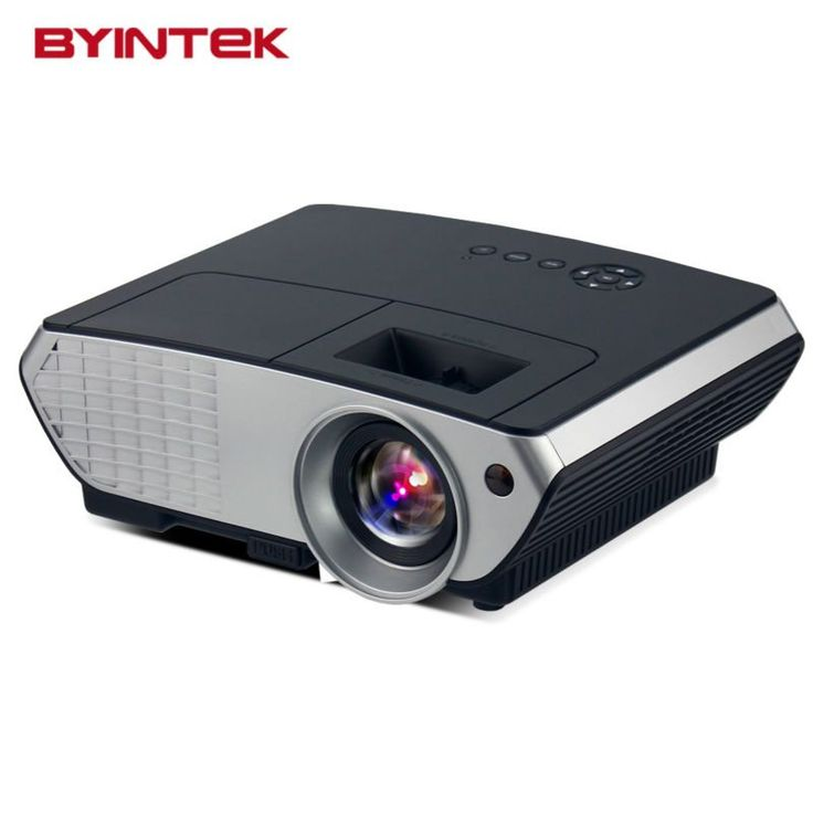 BYINTEK BL126 HDMI USB LCD LED Android WIFI Home Theater Video Portable Projector HD 1080P Proyector Beamer Russian Korean //Price: $221.25//     #shop