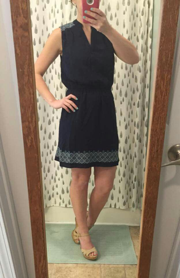 Dear Stylist, I love this dress and think it would be great for work or for going out with friends.
