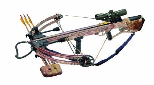 Arrow Precision Inferno Blaze II Compound Crossbow with Free Rope Cocker, Camouflage by Arrow Precision. Arrow Precision Inferno Blaze II Compound Crossbow with Free Rope Cocker, Camouflage.