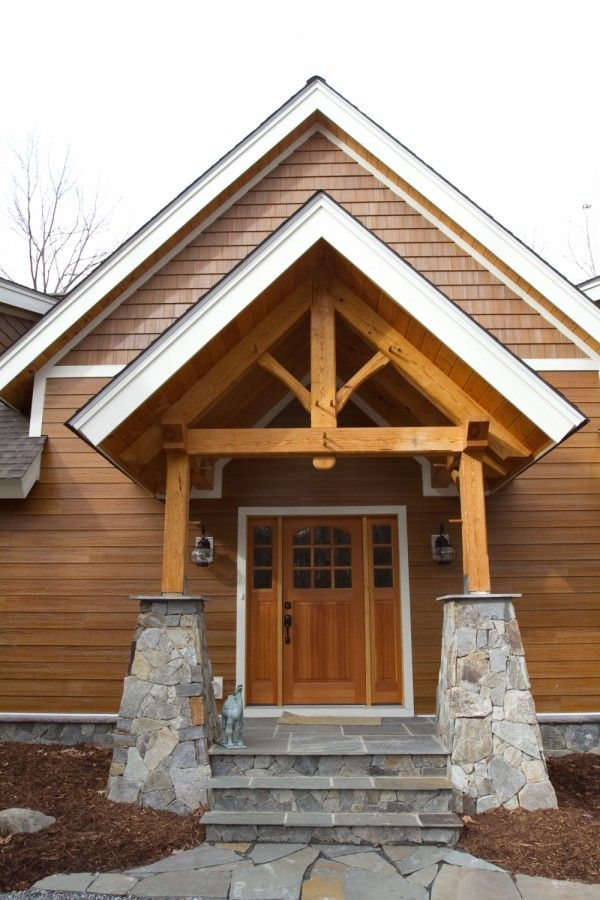16 Best Images About Timberframe Gable End On Pinterest