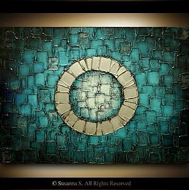 geometric abstract paintings - Google Search