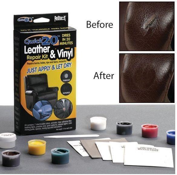 Leather Repair Kit Vinyl Repair Leather Repair Leather Couch Repair