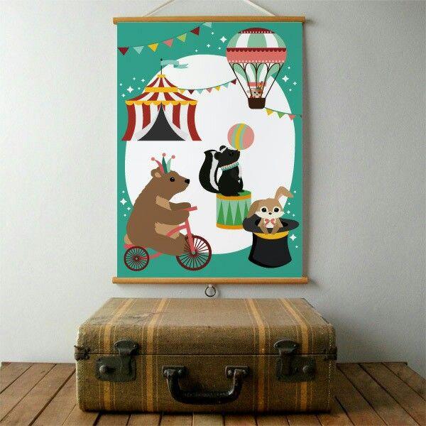 Poster Circus Oktoberdots ● Troetel.com