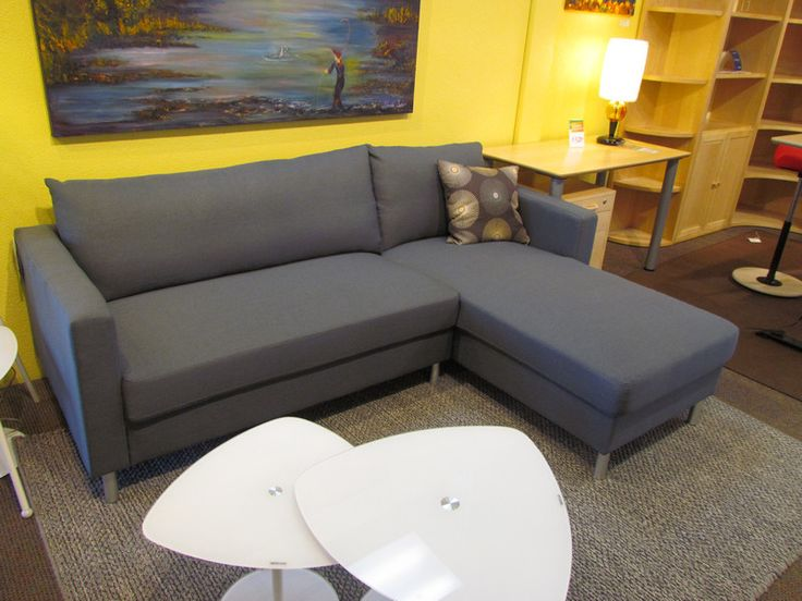 Genial Anniston Compact Sofa Sectional In Grey Fabric. On Scan Basics  Http://scanhome