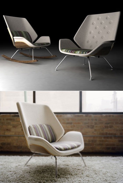 Fulton Lounge Chair by mnml.com