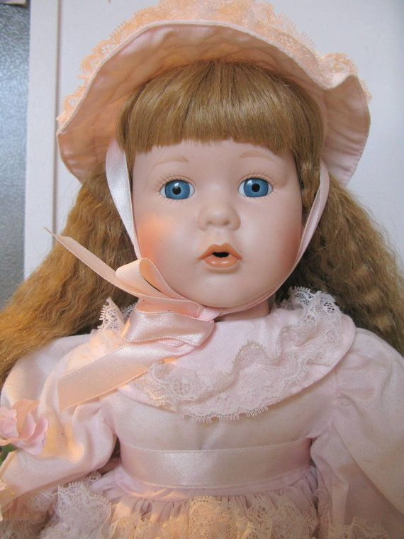 Porcelain Dolls for Sale, Collectible Porcelain Doll, Victorian Dolls Birthday Doll Vintage