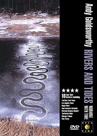 Andy Goldsworthy - Rivers and Tides: Working With Time (DVD, 2004)