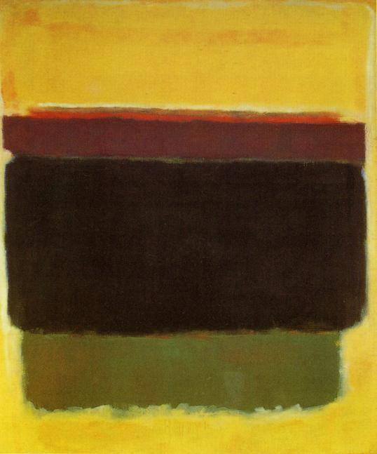 Black in Deep Red - Mark Rothko - WikiPaintings.org
