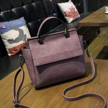 New Arrival Vintage Trapeze  Tote Women Leather Handbags Ladies Party Shoulder Bags Fashion Top-Handle Bags  Price: US $27.80  Sale Price: US $13.62  #dressional