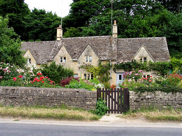 My favourite place in England, Bibury, the cutest little village ever.