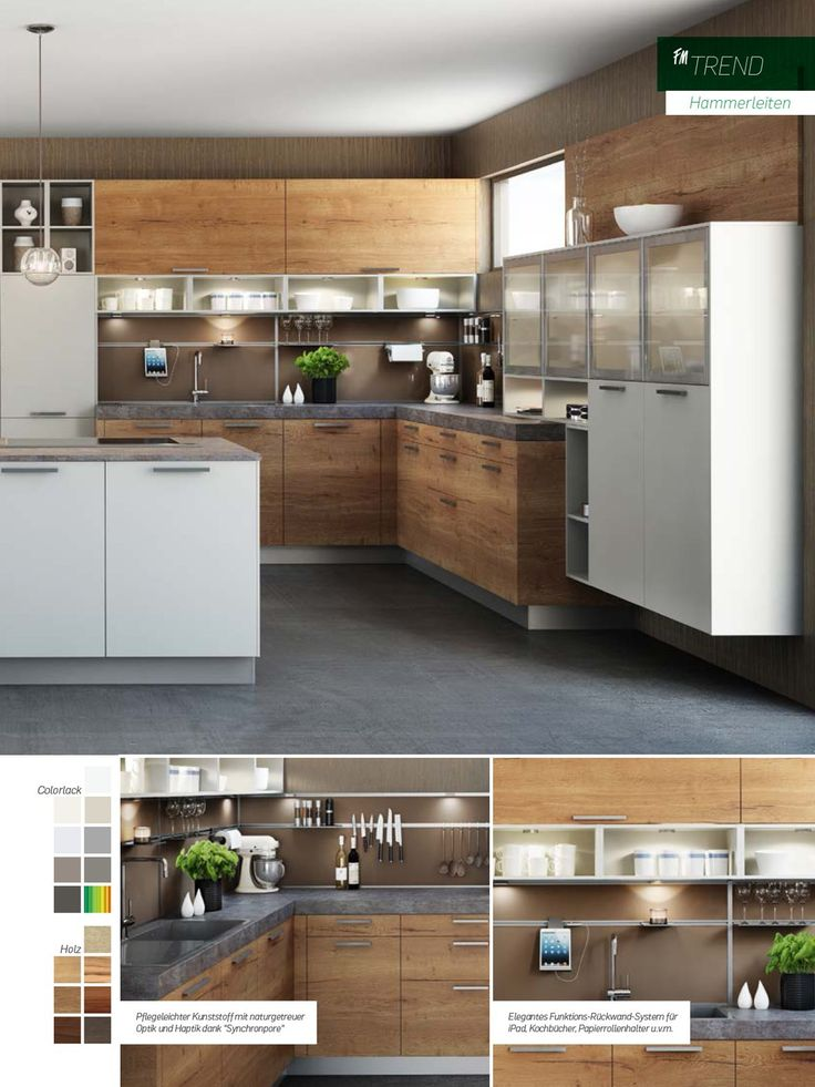 151 best Küche images on Pinterest Contemporary unit kitchens