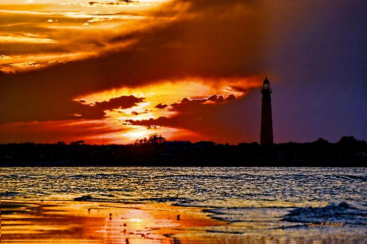 Final Sunset Ponce Lighthouse | Lighthouse and Ponce inlet fl