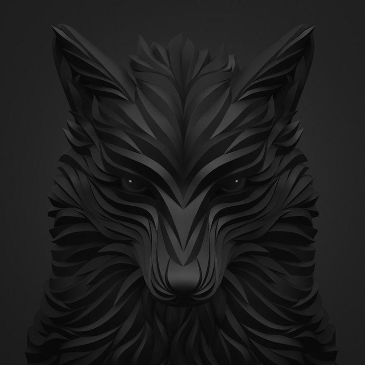 Новые 3D иллюстрации Максима Shkret | Вдохновение Сетка | Дизайн Вдохновение