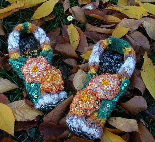 BosaBeta / Papuče - Jesenná láska