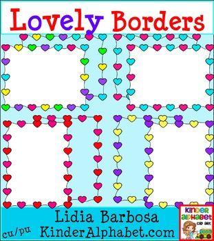Free Lovely Borders- Clip Art for Teachers